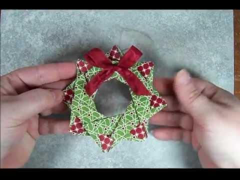 Star Wreath Origami Ornament