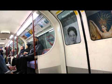 London Underground   Bakerloo line train inc a short ride inside 16th Jan 2016 1