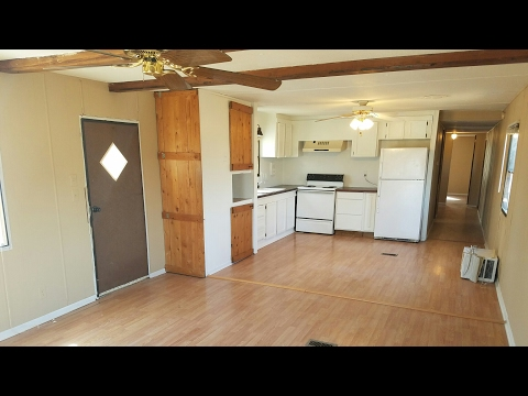 Renovation of 1978 mobile home, flip to rent for residual income.