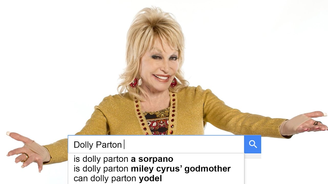 Dolly Parton Answers the Web's Most Searched Questions   WIRED