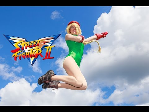 Cammy vs Ryu   (  Live Action Battle  )