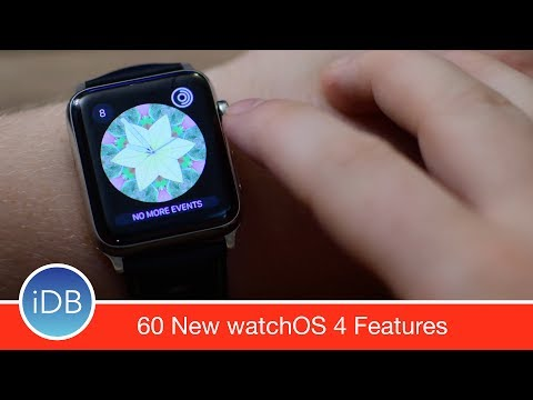 60 New Apple Watch Features & Enhancements in watchOS 4