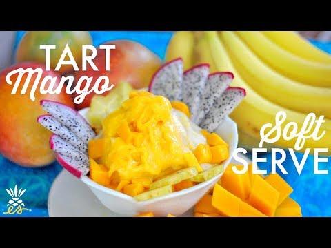 Yonanas Giveaway! + Tart Mango Soft-Serve (Plant-based, Dairy-free, Raw Vegan)