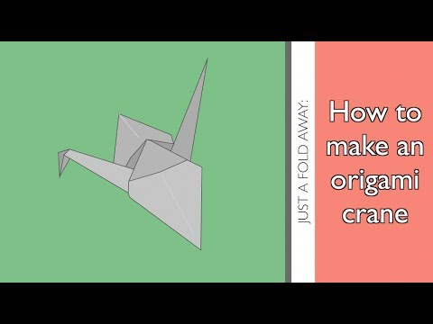 How to make an origami crane | Step-by-step guide