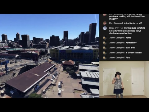 Stream: Google Earth VR with Street View!