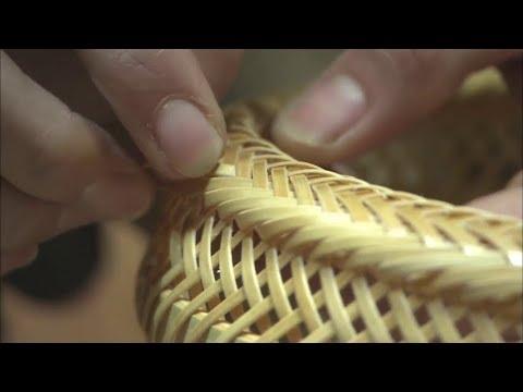 Ancient Technology of Making Beppu Bamboo Crafts - Incredible Bamboo Woodworking Skills