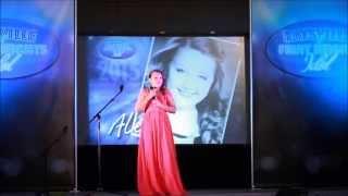 Alexa McCowan - Hallelujah - Kaysville Idol 2015
