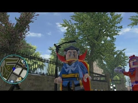 LEGO Marvel Super Heroes - Unlocking Doctor Strange + Free Roam Gameplay