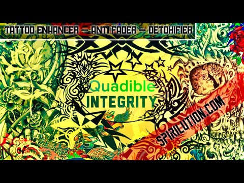 ★Tattoo Ink Enhancing - Anti Fading Metal Detoxing Frequency Formula★ (Exclusive) Quadible Integrity