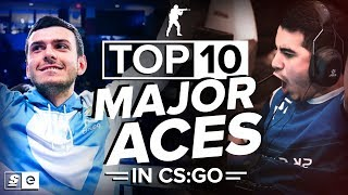The Top 10 Major Aces in CS:GO History