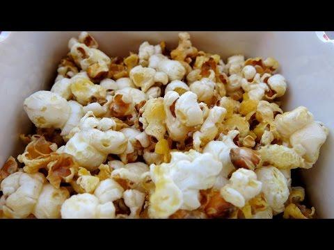 how to make sweet popcorn