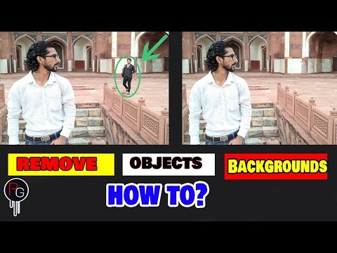 How To Remove Unwanted Objects| Remove/Delete Background| From Your Photos | New Tutorial