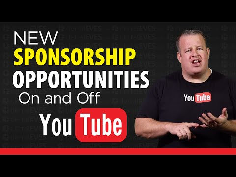 New Sponsorship Opportunities On And Off YouTube