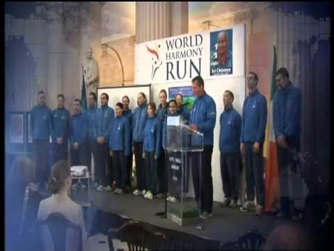 World Harmony Run launch in Dublin - Gillette World Sport 2010.mpg