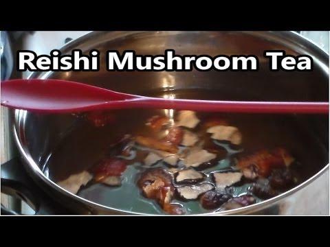Howto Make Reishi Mushroom Tea