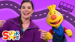 The Wheels On The Bus | Learn Kids Songs | Sing Along With Tobee