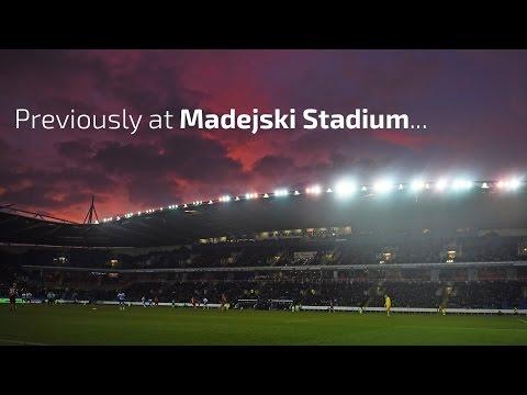 Previously at Madejski Stadium...