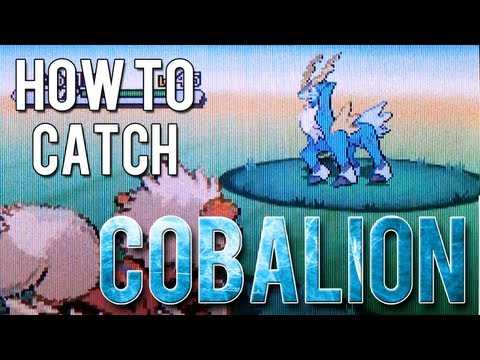 How to Catch - Cobalion - Pokemon Black 2 and White 2