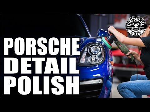 How to: Polish Car Paint - Chemical Guys Detail Garage: Porsche Boxster Part 2