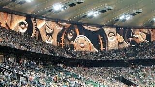 Экран заставка стадиона Краснодар осталось 5 минут до начала матча