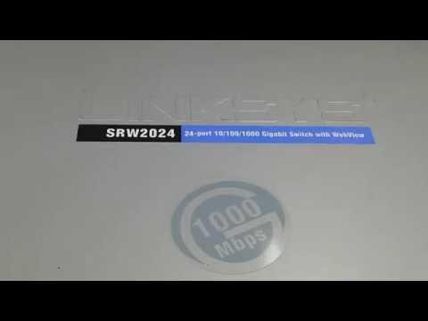 Linksys Srw2024 Business Series 24 Port 101001000 Switch