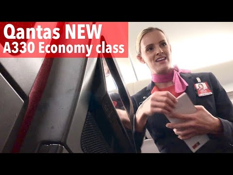 Qantas A330 Economy Class: QF30 Hong Kong to Melbourne (2018)