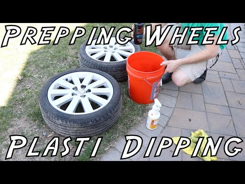 How To Prep And Plasti DipYour Wheels! [IN DEPTH STEP-BY-STEP]