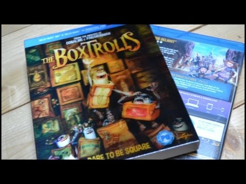 The Boxtrolls 3D Blu-ray (UK) Unboxing
