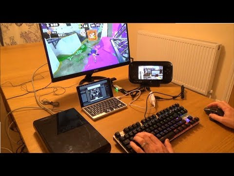 Using a Keyboard & Mouse on the Nintendo Wii U