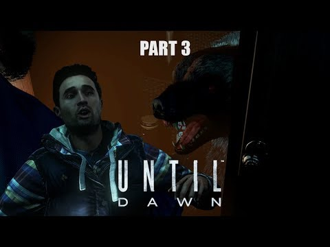 Meeting Josh's Cat - Until Dawn Playthrough Part 3