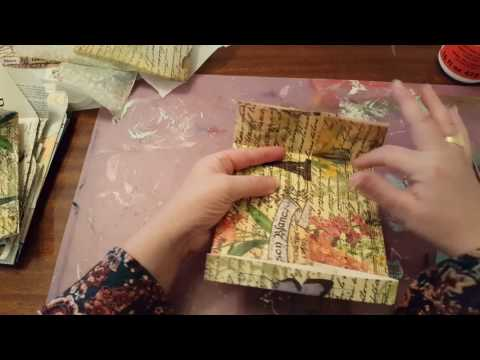 Tutorial: Making envelopes from old book pages.