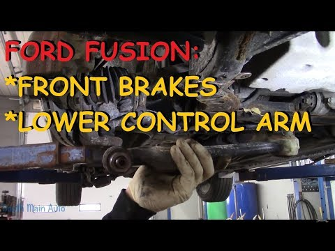 Ford Fusion: Front Brakes & Lower Control Arm