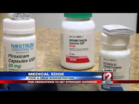 FDA strengthens heart risk warning in popular pain relievers