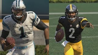 Who Can Score A 99yd Scramble Td Cam Newton Or Michael Vick Madden 16