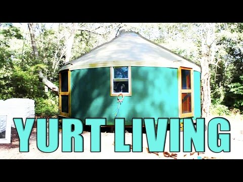 Living in a Yurt: Mother and Son Share Tiny Home
