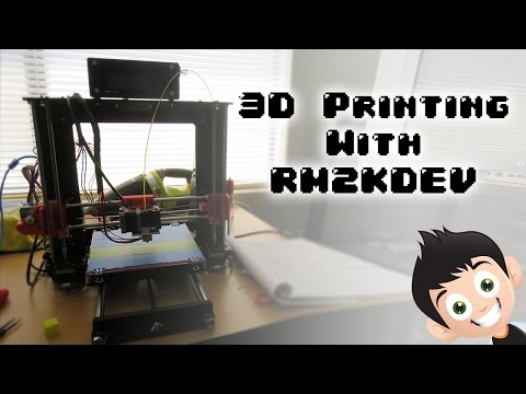 3D Printer Review - Prusa I3, GEETech, China Clone - 3D Printing With Rm2kdev #1