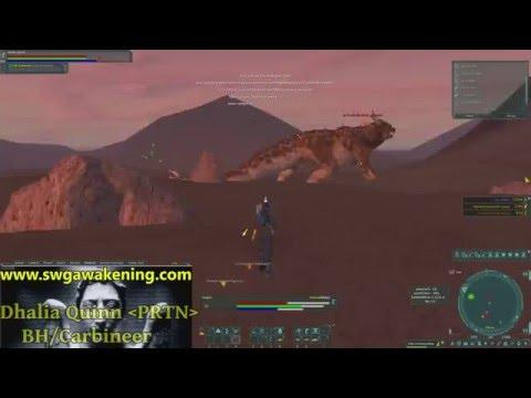Star Wars Galaxies:Awakening - Jedi Hunt (Part 3)