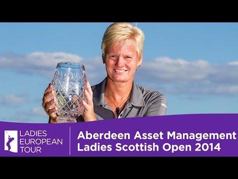 Aberdeen Asset Management Ladies Scottish Highlights 2014