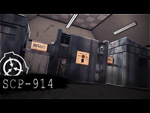 Minecraft SCP Training Camp! - SCP-914