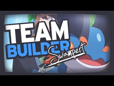 Pokemon Team Building | Ruby Sapphire & Emerald | Mudkip, Marshtomp & Swampert