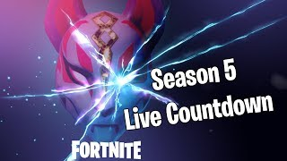 Fortnite BR Season 5 Live Countdown and Chill (ARCHIVED)