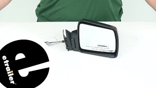 Review of K Source Replacement Mirrors - Replacement Standard Mirror - KS60031C - etrailer.com