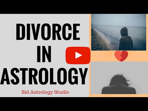 Divorce in Astrology-planetary combinations for divorce & late marriage