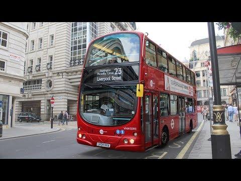 Tower Transit   Wright Gemini/Volvo B7TL   23 to Liverpool Street   VNW32392 (LK04HXA)