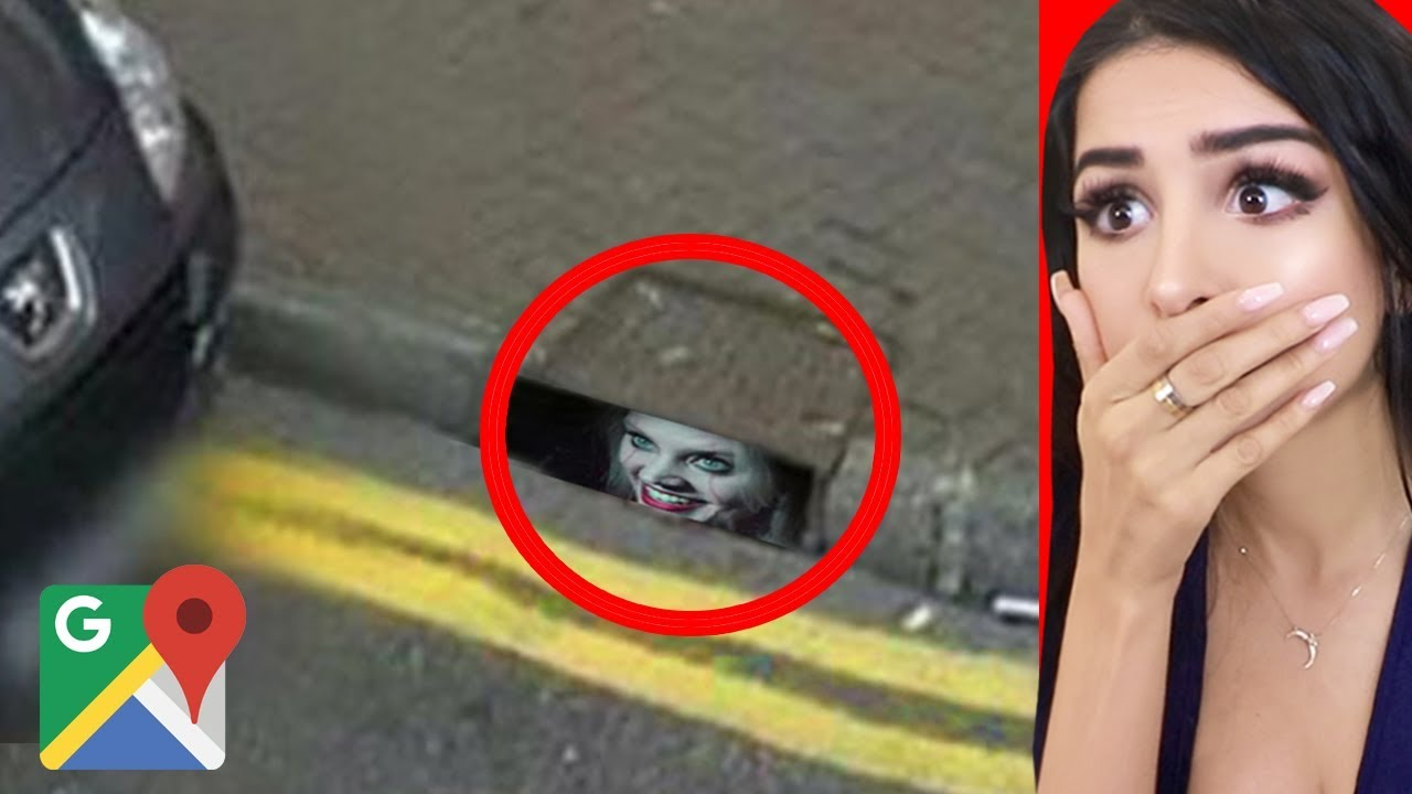 CREEPY Things Caught on Google Maps