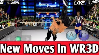HOW TO INSTALL NEW MOVES IN WR3D WR3D NEW ANIMATION WR3D