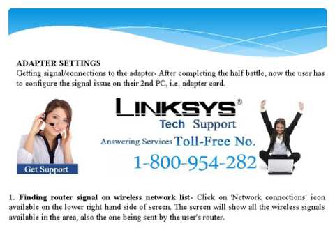 Fix Connection Problems of Linksys Router