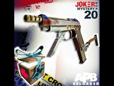 APB Reloaded / opening 25 JOKER mystery boxes 20