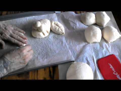 ~Easter Bunny Bread Part 2 ~ Shaping of the Bunny Bread~