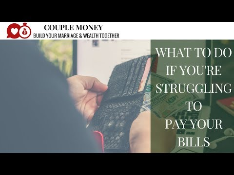 What to Do If You're Struggling to Pay Your Bills